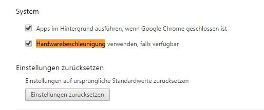 Google Chrome Schwarz