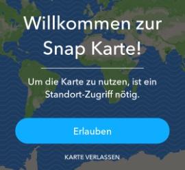 Snapchat Karte öffnen: So kannst Du Freunde orten