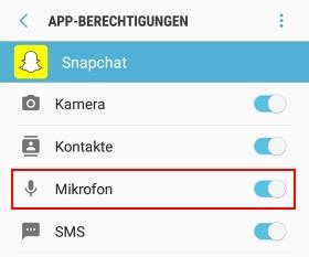 Mikrofon ausschalten unter Android