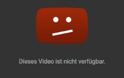 Youtube Video Nicht Verfügbar