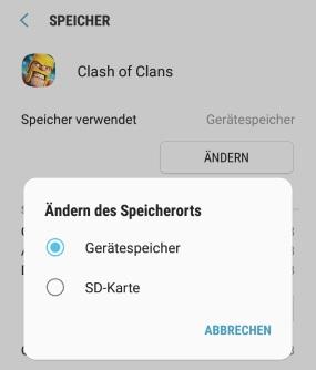 Bilder Auf Sd Karte Verschieben S8.Android App Speicherort Andern Anleitung Beim Samsung