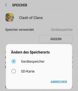Android Speicher voll obwohl leer