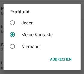 Whatsapp Profilbild Nicht Anzeigen Sperren Für Einige Kontakte